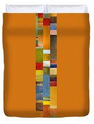Skinny Color Study Ll Duvet Cover by Michelle Calkins