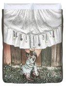 Skirts And Dangles Duvet Cover