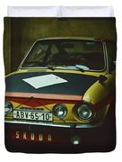 Skoda 110r Coupe Duvet Cover