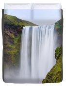 Skogafoss - Iceland Duvet Cover