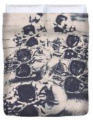 Skull Fashion Accessories  Duvet Cover