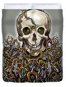 Skull N Thorns Duvet Cover