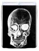 Skull Study 3 Duvet Cover by Reed Novotny