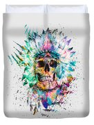 Skull - Wild Sprit Duvet Cover