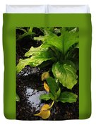 Skunk Cabbage Beauty Duvet Cover