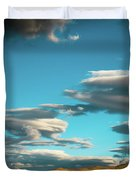 Sky And Clouds Garuda Valley Tibet Yantra.lv Duvet Cover