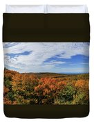 Sky And Trees Duvet Cover