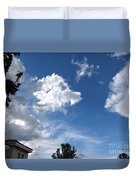 Sky Before The Storm Duvet Cover