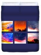 Sky Colours Duvet Cover