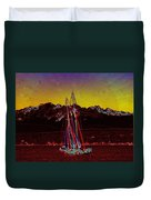 Sky Diamonds Duvet Cover