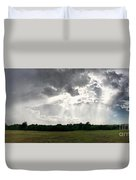 Sky Divided  Duvet Cover