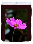 Sky Facing Flower Duvet Cover