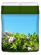 Sky Flower Duvet Cover
