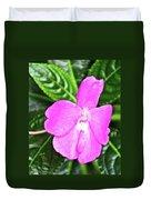 Sky Flower In Huntington Botanical Gardens In San Marino-california  Duvet Cover