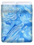 Sky Goddess Duvet Cover by Cassandra Geernaert