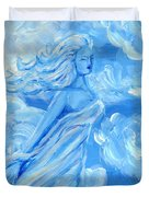 Sky Goddess Duvet Cover