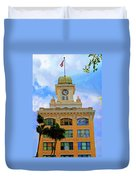 Sky Of The Hall Duvet Cover