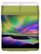 Sky Rays Duvet Cover