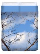 Look At The Blue Sky Duvet Cover