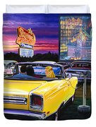 Sky View Drive-in Duvet Cover
