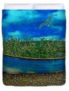 Skyboat Duvet Cover