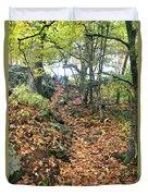 Skylands Path P Duvet Cover
