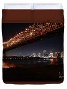 Skyline Bridge Duvet Cover