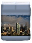 Skyline Fog Duvet Cover
