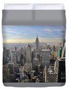 Skyline New York City  Duvet Cover