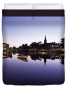 Skyline Over The R Garavogue, Sligo Duvet Cover