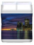 Skyline Sunset Duvet Cover