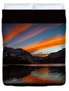 Skys Of Color Duvet Cover