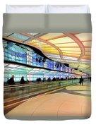 Sky's The Limit-underground Walkway Duvet Cover
