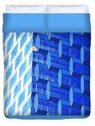 Skyscraper Blue Duvet Cover