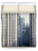 Skyscraper Windows Duvet Cover
