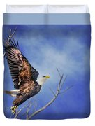 Skyward - Bald Eagle Duvet Cover