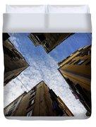 Skyward In Naples Italy - Spanish Quarters Take Three Duvet Cover