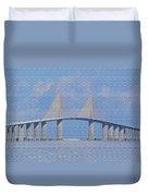 Skyway Bridge Duvet Cover