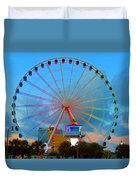 Skywheel Duvet Cover