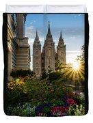 Slc Temple Sunburst Duvet Cover
