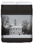 Sledding Duvet Cover