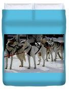 Sledge Dogs H B Duvet Cover