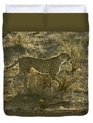 Sleek And Spotted Duvet Cover