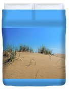 Sleeping Bear Sand Dunes Duvet Cover