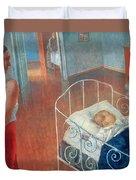Sleeping Child Duvet Cover