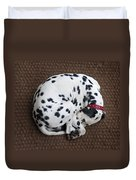 Sleeping Dalmatian II Duvet Cover