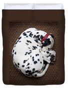 Sleeping Dalmatian Duvet Cover