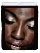 Sleeping Face #0067 Duvet Cover