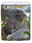 Sleeping Koala - Canberra - Australia Duvet Cover