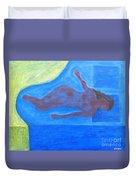 Sleeping Nude Duvet Cover